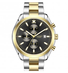 Kensington London Chrono Black/Gold/Silver-085