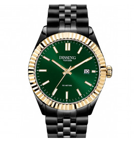 Dissing Date Black/Green/Gold-045