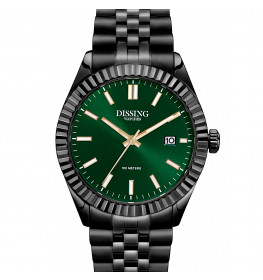 Dissing Date Black/Green-047