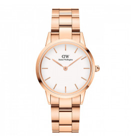 Daniel Wellington Iconic Link 32 Rose Gold White ADW00100211-040