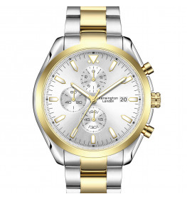 Kensington London Chrono Gold/Silver-088