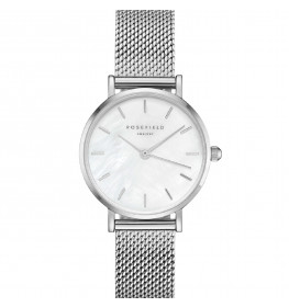 Rosefield The Small Edit White Silver 26WS-266-021