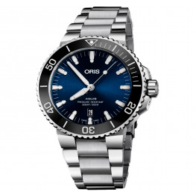 ORIS AQUIS DATE BLUE 73377304135MB-02