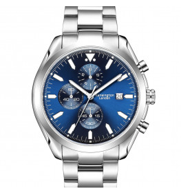 Kensington London Chrono Blue/Silver-083