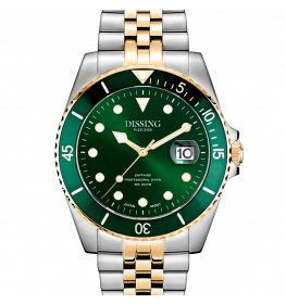 Dissing Diver Silver/Gold/Green-054