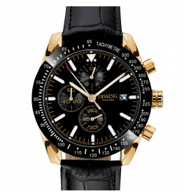 Dissing Chrono Leather Black/Gold-07