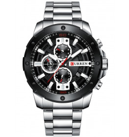 Curren Chrono Black/Steel-065