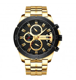 Curren Chrono Gold-067