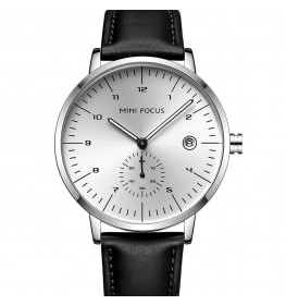 Megir Mini Focus Leather Black/Steel-08
