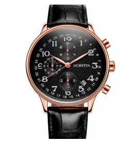 Ochstin Chronograph Black/Rose Gold-032