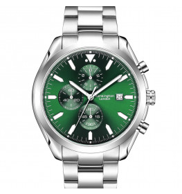Kensington London Chrono Green/Silver-085