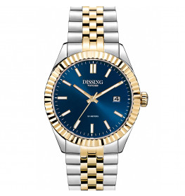 Dissing Date 36 Two Tone Gold/Blue-057