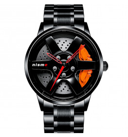 Racing Watch 3D Orange-07