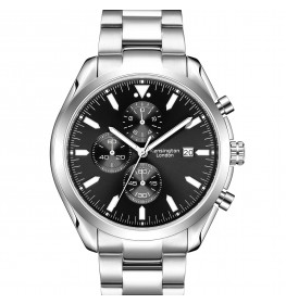 Kensington London Chrono Black/Silver-087