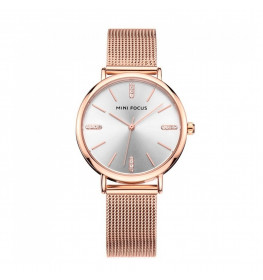 Megir Mini Focus Mesh Rose Gold-011
