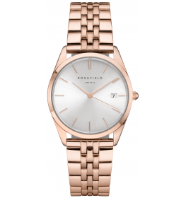 Rosefield The Ace Silver Sunray Rose Gold-022