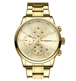 Studsgaard Chronograph All Gold-04