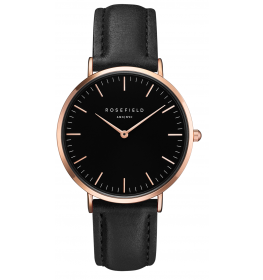 Rosefield The Bowery Black Black Rose Gold-026