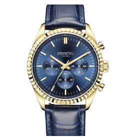 Dissing Date Chrono Blue Leather-05
