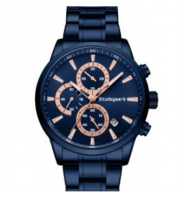 Studsgaard Chronograph All Blue-04