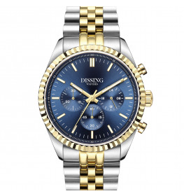 Dissing Date Chrono Blue Steel Gold-04