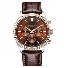 Dissing Date Chrono Brown Leather-04