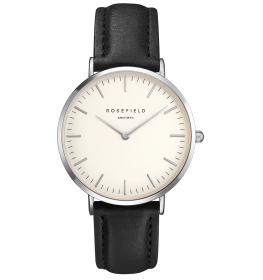 Rosefield The Bowery White Black Silver-025
