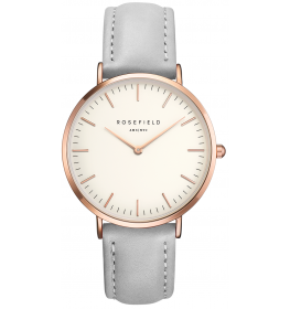 Rosefield The Bowery White Grey Rose Gold-028