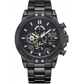 Megir Chrono Black/Black-029