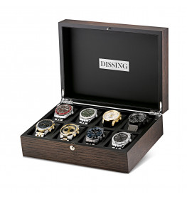 Dissing Collectors Box Brown Wood 8 DUR002-010