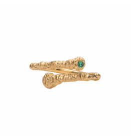 Frederik IX Studio Crunchy Green Nature Ring-03