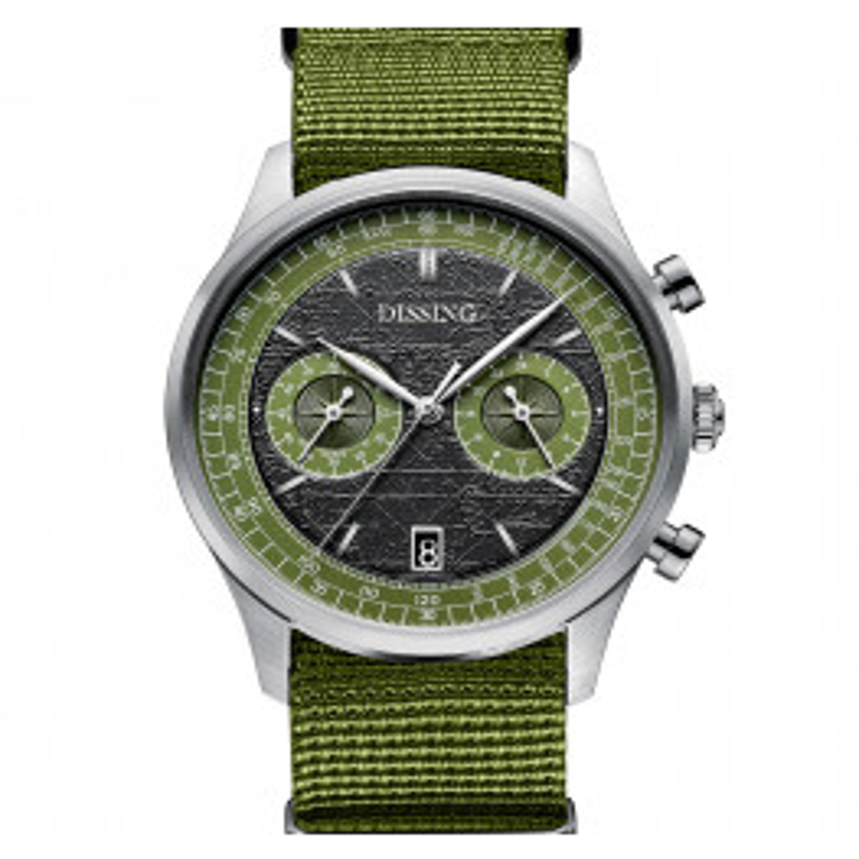 Dissing Explorer Green Nato Steel/Green-07