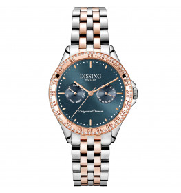 Dissing Ladies Two Tone Silver/Rose/Greyblue-046