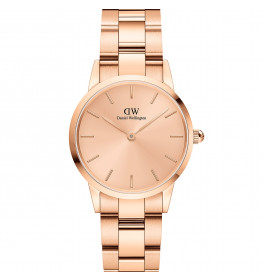 Daniel Wellington ICONIC LINK UNITONE 28 ROSE GOLD DW00100401-04