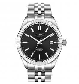 Dissing Date Date Automatic Steel/Black-05