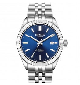 Dissing Date Date Automatic Steel/Blue-05