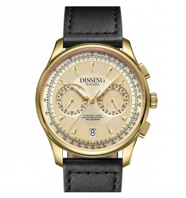 Dissing Pioneer Leather Gold Black-07