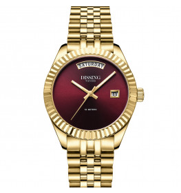 Dissing Day Date 36 Gold Red-05