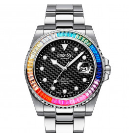 Dissing Diver Rainbow Silver-07