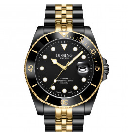 Dissing Diver Black/Gold-049