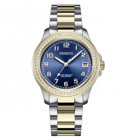 Dissing Lady Diver Diamond Blue/Gold/Silver-07