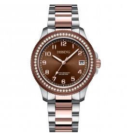 Dissing Lady Diver Diamond Brown/Silver/Rose Gold-06