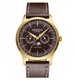 Dissing Moonphase Brown Gold-06