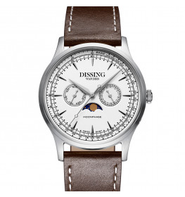 Dissing Moonphase Brown Steel-07