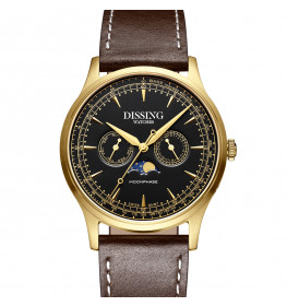 Dissing Moonphase Brown Black Gold-06