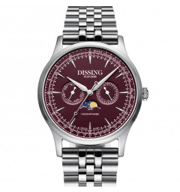Dissing Moonphase Steel Bordeaux-06