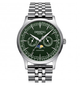 Dissing Moonphase Steel Green-06