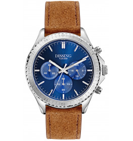 Dissing Chrono Leather Silver/Blue-03