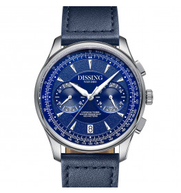 Dissing Pioneer Leather Blue-06