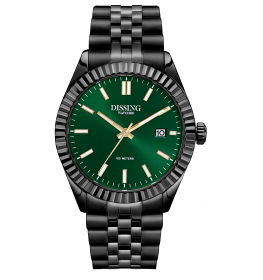 Dissing Date Black/Green-044